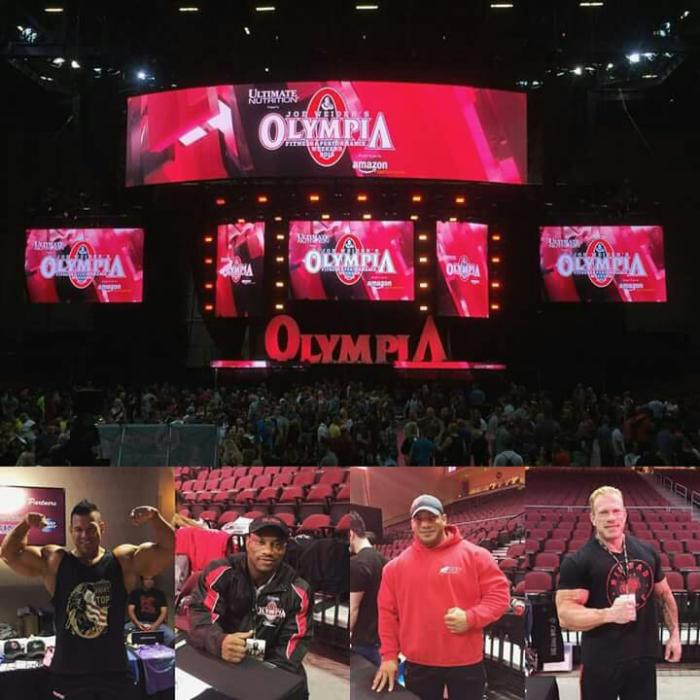 The 2015 Mr. Olympia Live Stream Webcast!