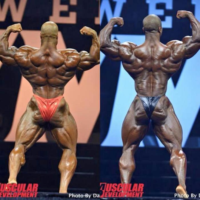 2015 Mr. Olympia: Phil Heath vs Shawn Rhoden