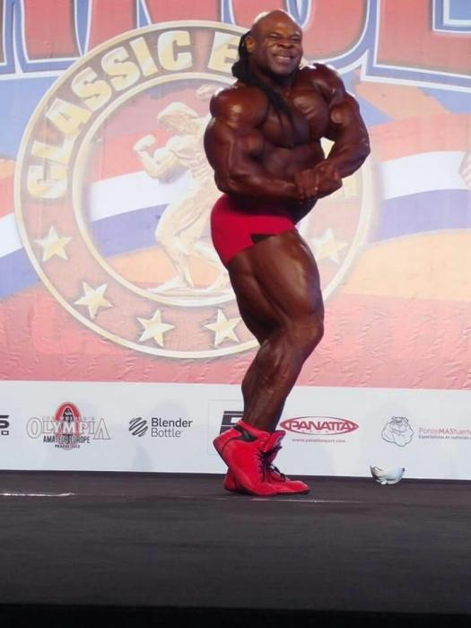 Kai Greene guest posing Arnold Classic Europe Amateur 2015