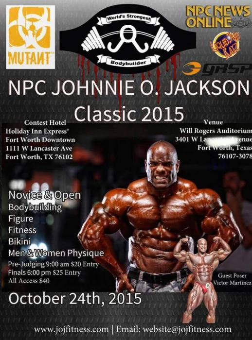 Jonnie Jackson Classic 2015