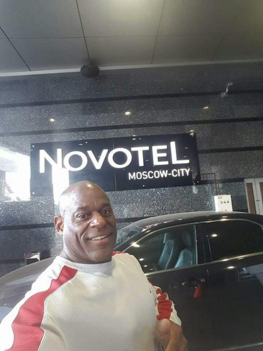 Vince Taylor in Russia