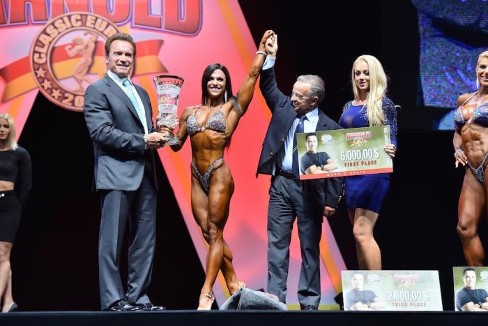 Fitness winner Oksana Grishina 1