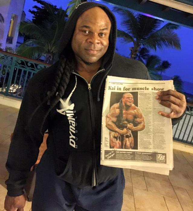Kai Greene (Updates) Official Thread