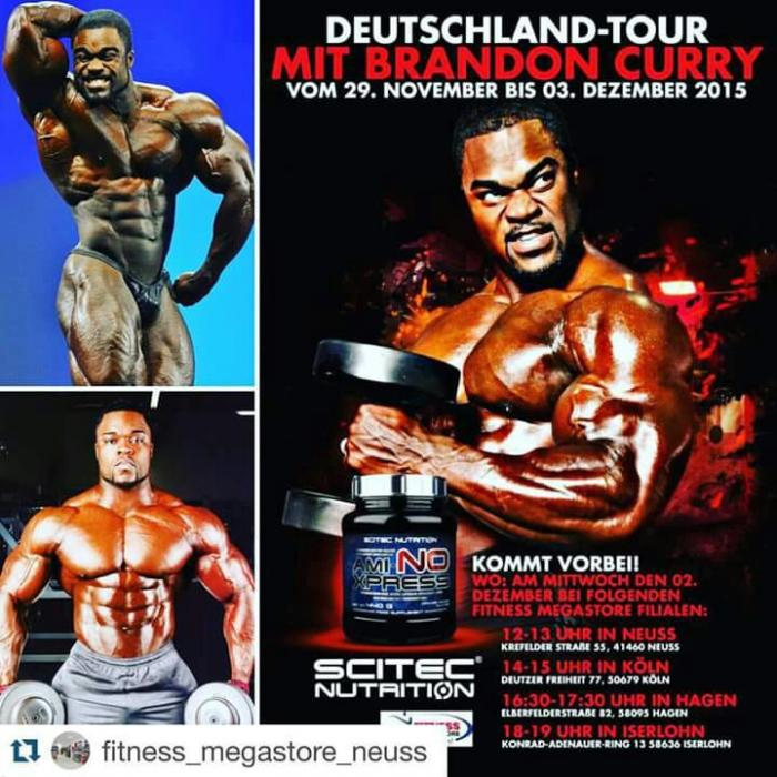 Brandon Curry will be in Germany!