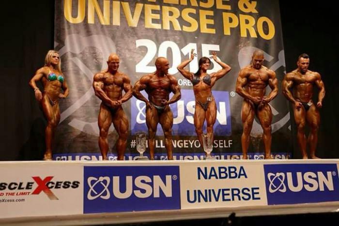 Nabba Universe 2015 Results