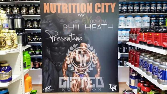 Five times Mr Olympia Heath in Rome