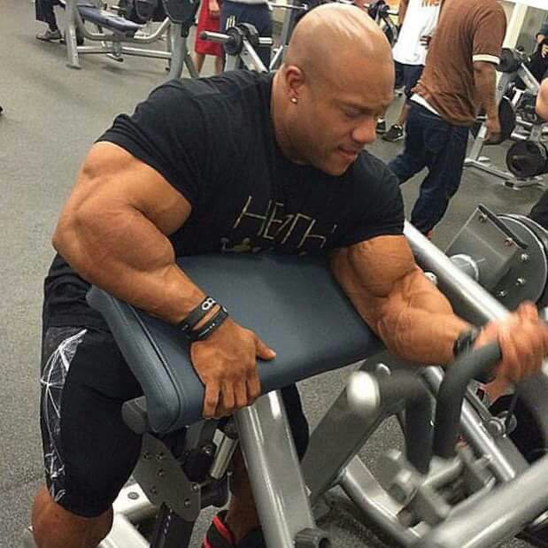 Phil Heath getting jiggy with it!