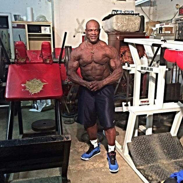 Big Ronnie Coleman today
