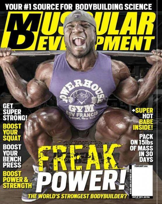 IFBB Pro Akim Williams does some squat!