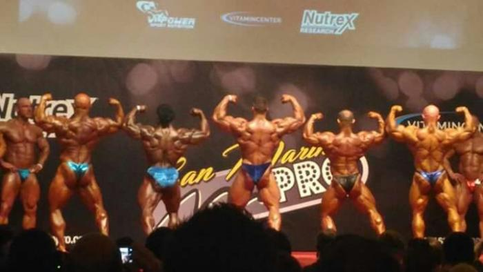 Emiliano Dell'uomo will compete in Evl's Prague Pro IFBB...