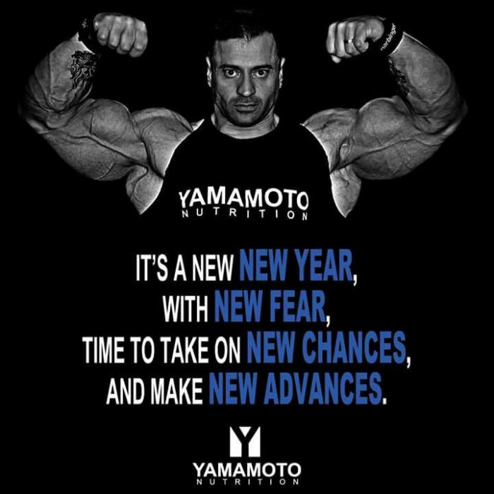 A message for 2016 from Thomas Benagli Pro IFBB