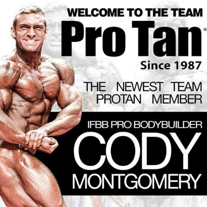 Cody has a new sponsor