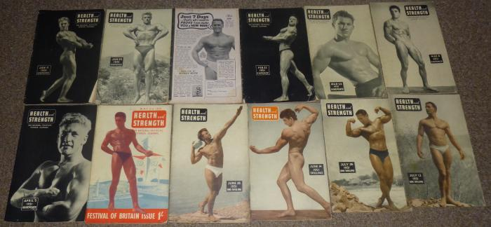 How The Old Bodybuilding Magazines Used To Look Like