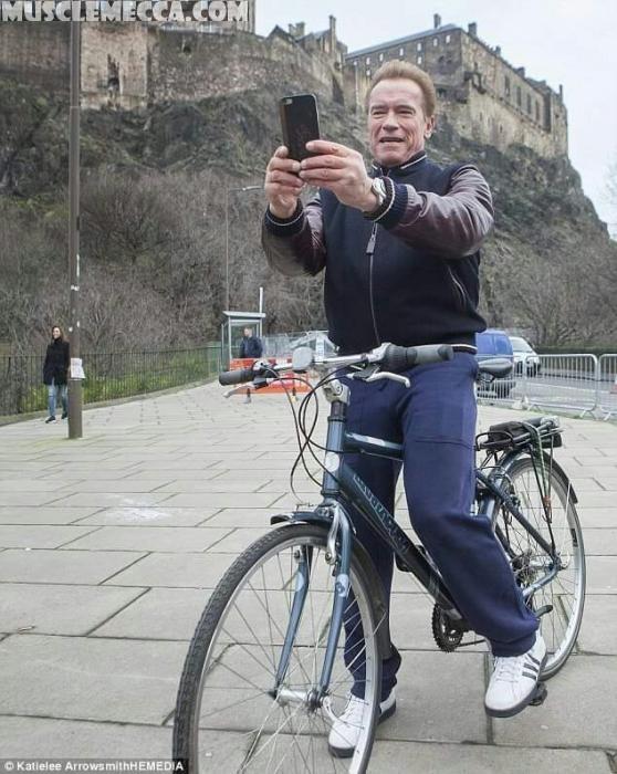 Arnold Schwarzenegger speaks out on climate change?