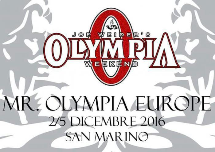 2016 Olympia Europe Amateur in San Marino