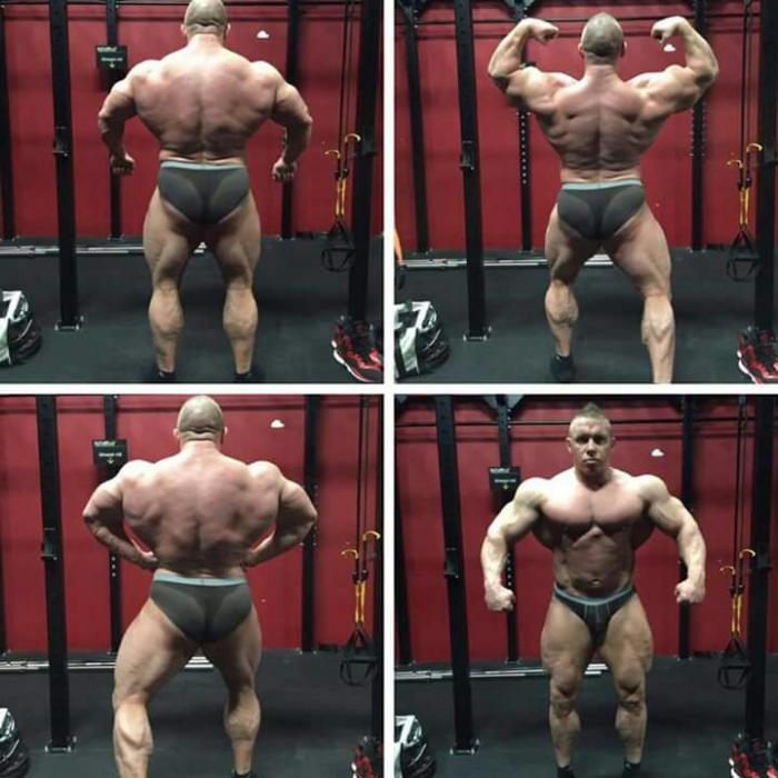 Daniel Toth Pro IFBB is working with Patrick Tuor!