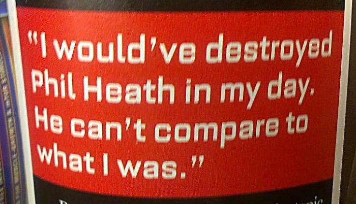 Ronnie Coleman on Mr Olympia Heath