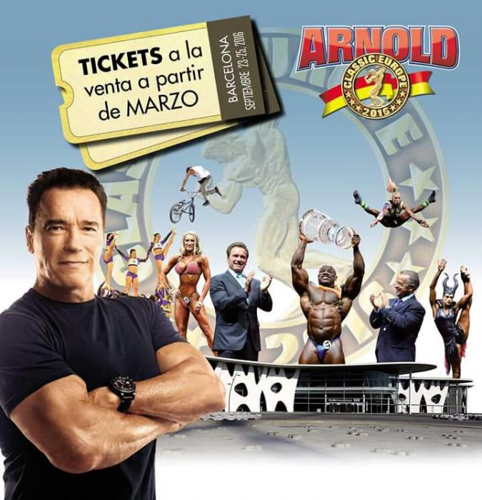 2016 Arnold Classic Europe