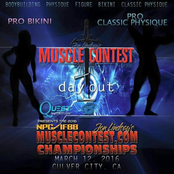 2016 Muscle Contest Body Building Classic Physique