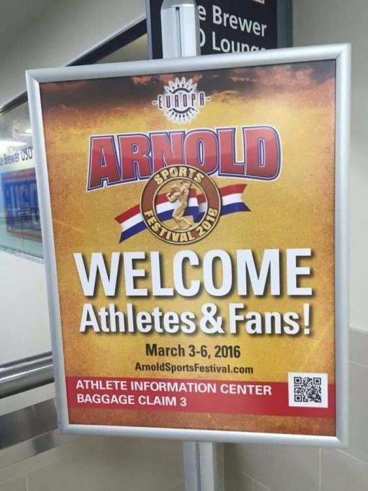2016 Arnold Classic Amateur starts now!