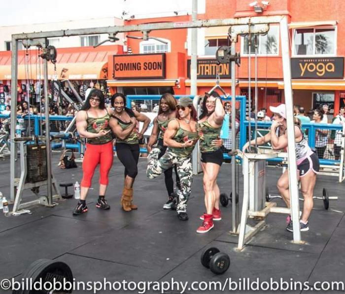 Muscle girls