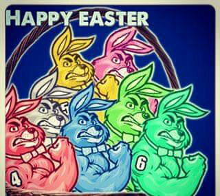 Happy Easter all mm fans!