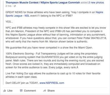 For all Pro IFBB on mm!