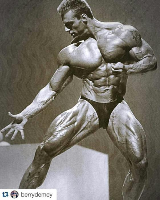 The Old days of bodybuilding...