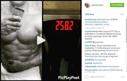 Former Pro Bodybuilder and IFBB Hall of Famer Kevin Levrone Bio