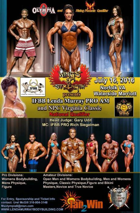 2016  Pro IFBB Female  Bodybuilding Contests!