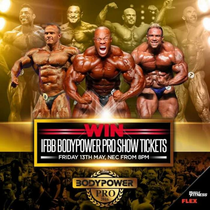 2016 Body Power uk