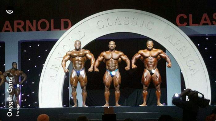 2016 Arnold Classic Africa