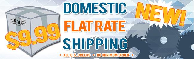 Flat Rate $9.99 On All U.S. Orders!