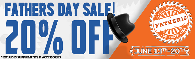 Father's Day Storewide Sale!