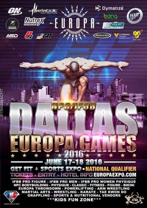 2016 Europa Pro Dallas