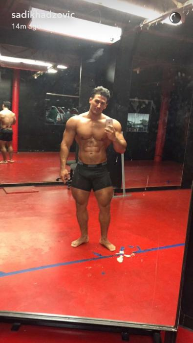 Is it just me or Sadik is getting way too big?
