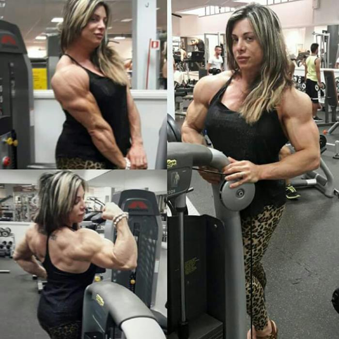 Female bodybuilder's world!