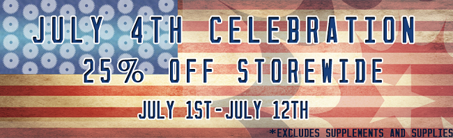 45% Off is Happening NOW! Happy 4th!