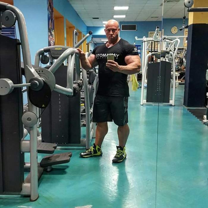 Petar klancir New Pro IFBB
