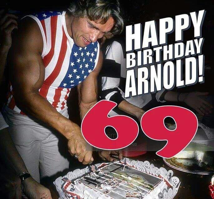 Happy Birthday King Arnold!