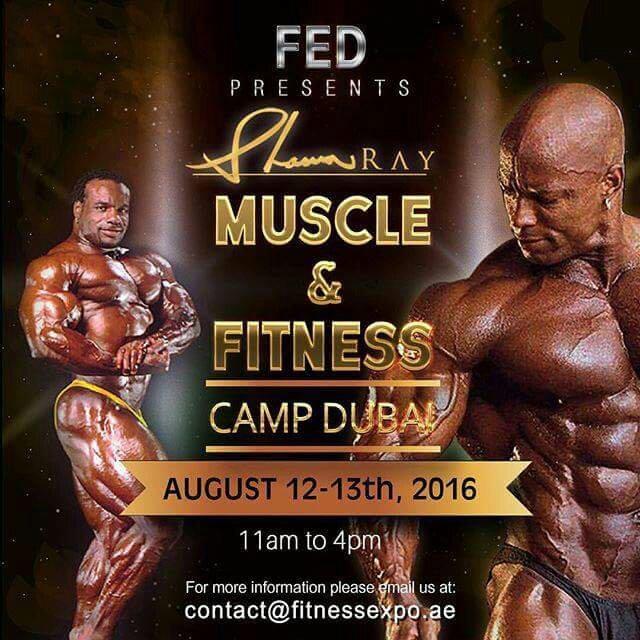 Shawn Ray Camp in Dubai