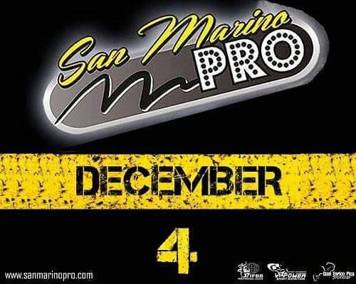 2016 San Marino Classic Pro IFBB