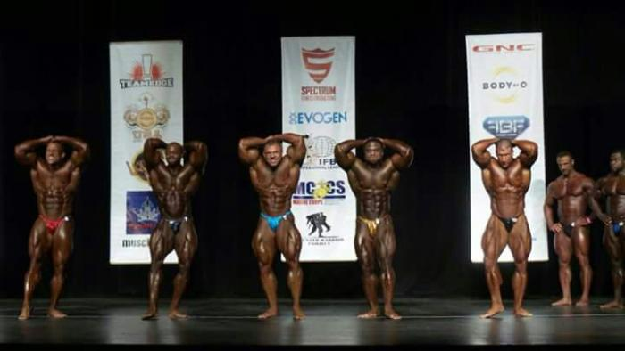 2016 Golden State Pro IFBB