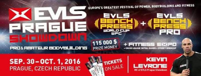 2016 Evl's Prague Pro IFBB