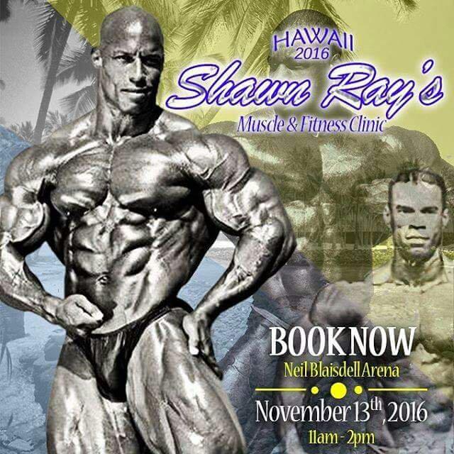 Shawn Ray 's Seminar in Hawaii