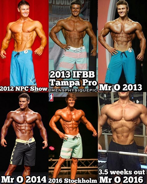 Jeff Seid's transformation over the years