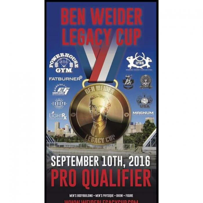 Ben Weider Legacy Cup 2016