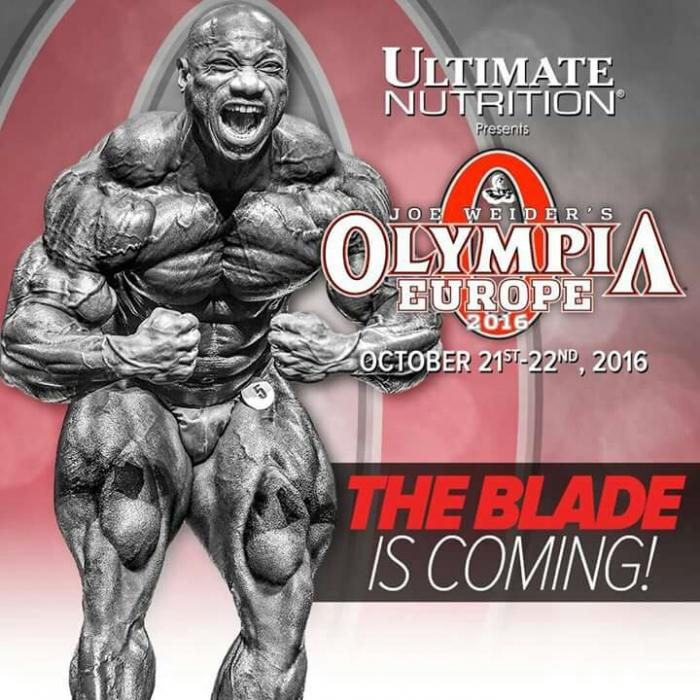 2016 Olympia Europe
