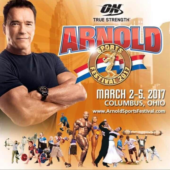 2017 Arnold Classic Ohio