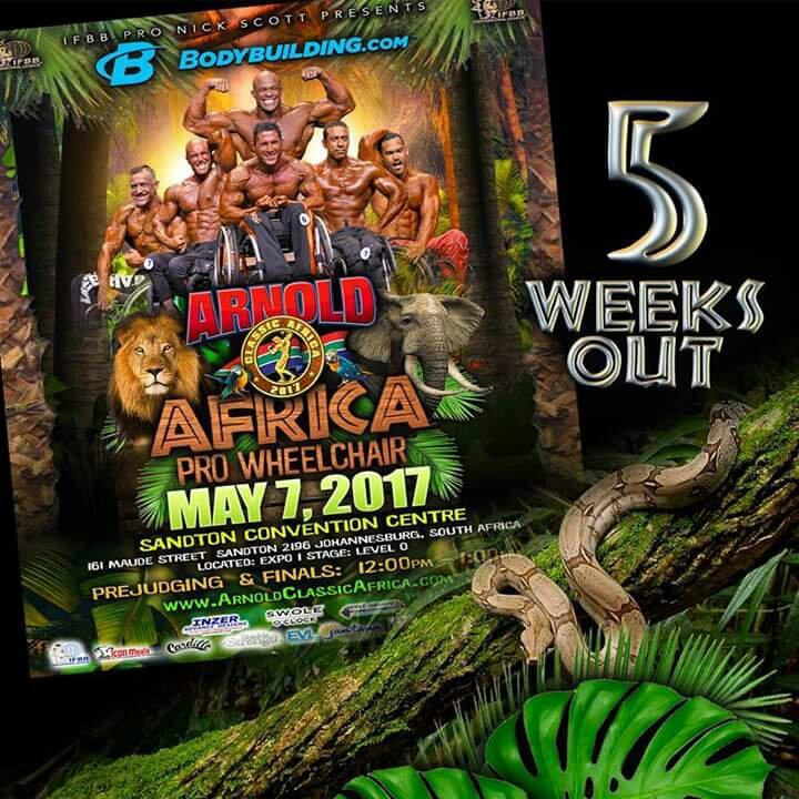 2017 Arnold Classic Africa